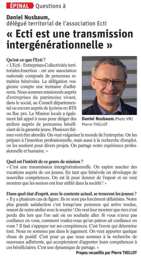 Vosges matin 27 11 2020 am